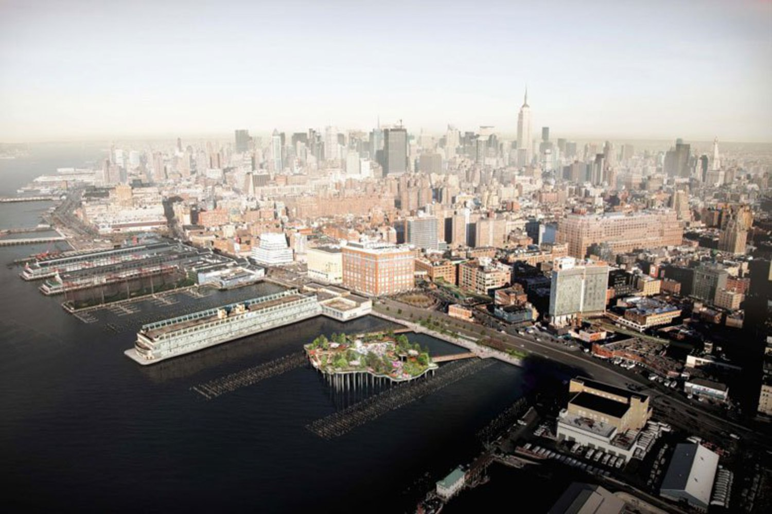 New Rendering of Pier 55