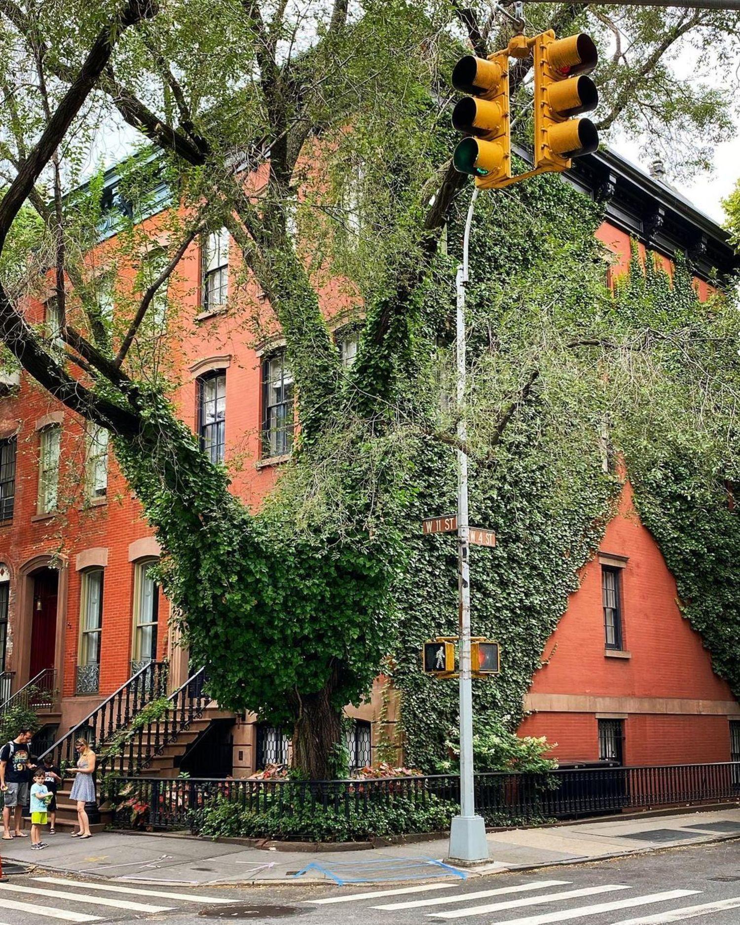 West 11th Street and West 4th Street, West Village, Manhattan