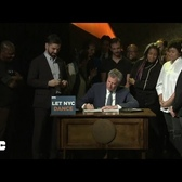 Mayor de Blasio Signs Legislation to Repeal the Cabaret Law