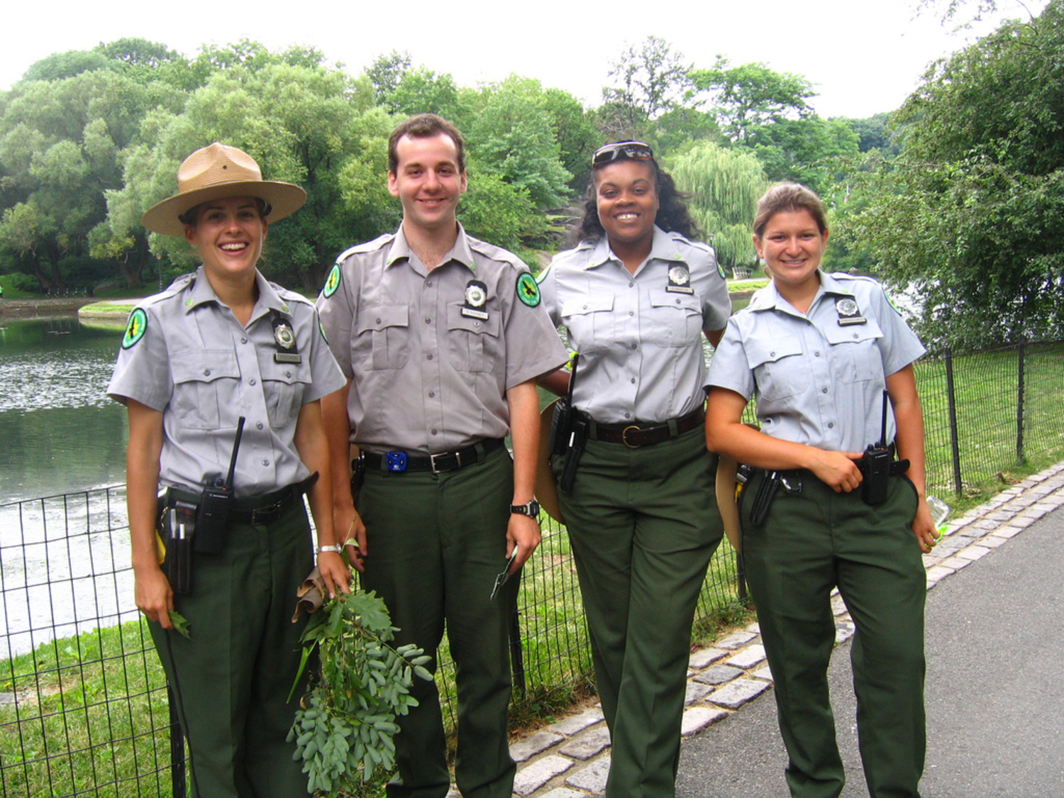 NYC urban park ranger fellows | Central Park and Inwood Hill represent, represent
