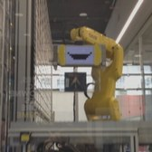 A Robot at Best Buy Sells CDs, DVDs, Games