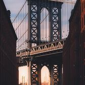 Manhattan Bridge, DUMBO, Brooklyn. Photo via @giltamin #viewingnyc #newyork #newyorkcity #nyc