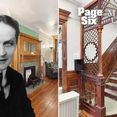 Houdini's magical NYC townhouse is for sale | Page Six