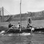 """April 18, 1947: """"In my forty-five years of shad fishing, this was the slowest season to get under way I've ever seen,"""" said Harry E. Lyons, owner of the boat pictured, in The Times's News of Food. It warned that shad was """"an especially bony fish so that it is best to have the bones removed at the market. Some stores, such as the Gristede ones, bone most all the shad that they sell."""" The article also included a recipe for baked stuffed shad that was """"Times-tested,"""" as in """"tried in The New York Times kitchens."""""""