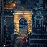 Washington Square Arch, Greenwich Village, Manhattan
