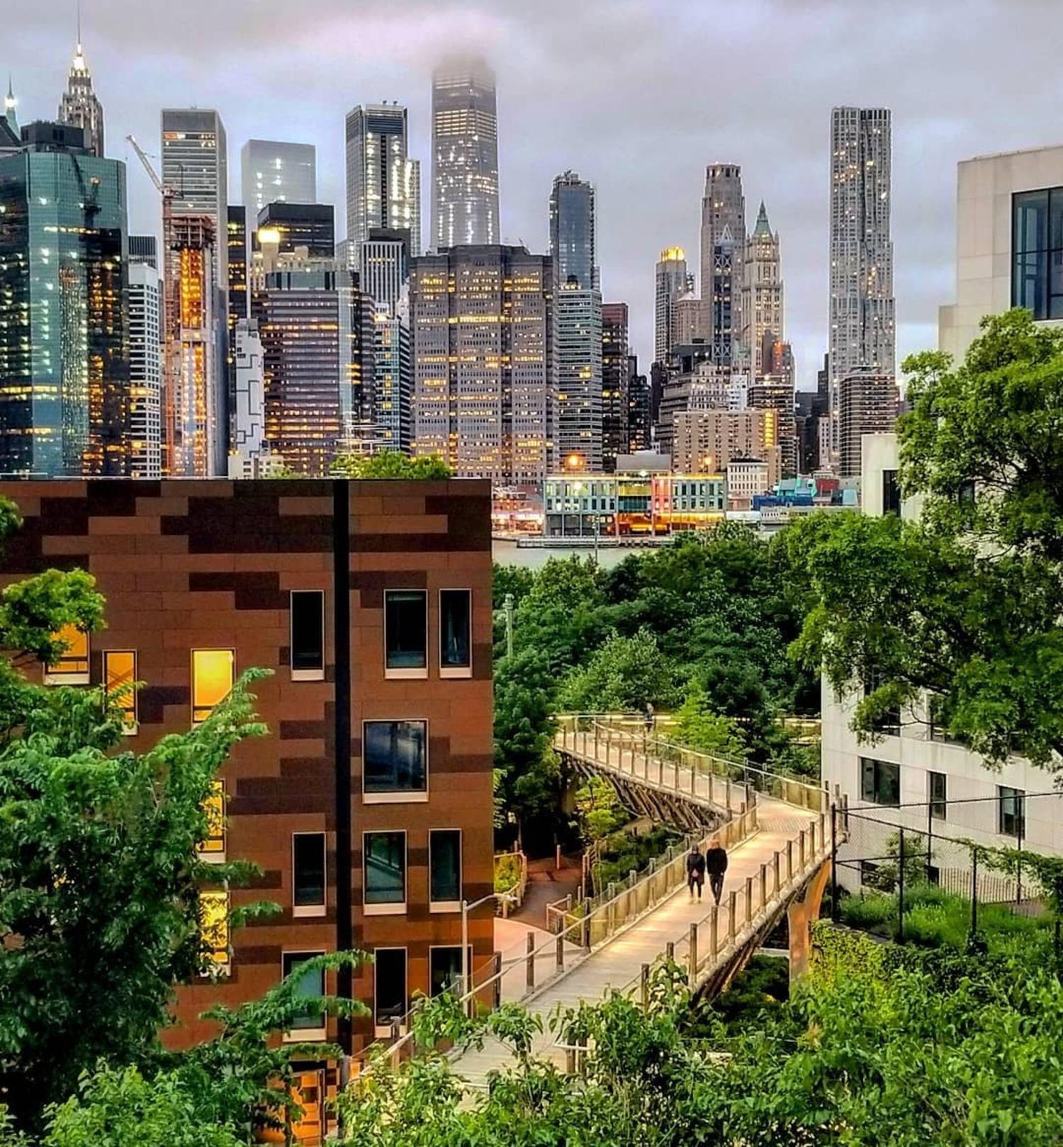 Squibb Park Bridge, Brooklyn Bridge Park, Brooklyn