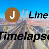 �ᴷ NYC Subway Timelapse - A Round Trip on the J Line