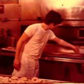 1979 Making bagels by hand in Brooklyn,  NY