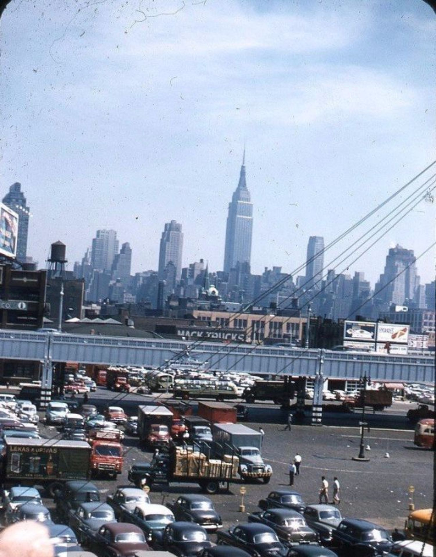 Manhattan skyline, 1959