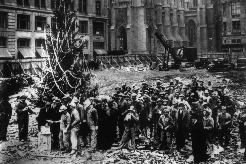 Rockefeller Center Christmas Tree, 1931