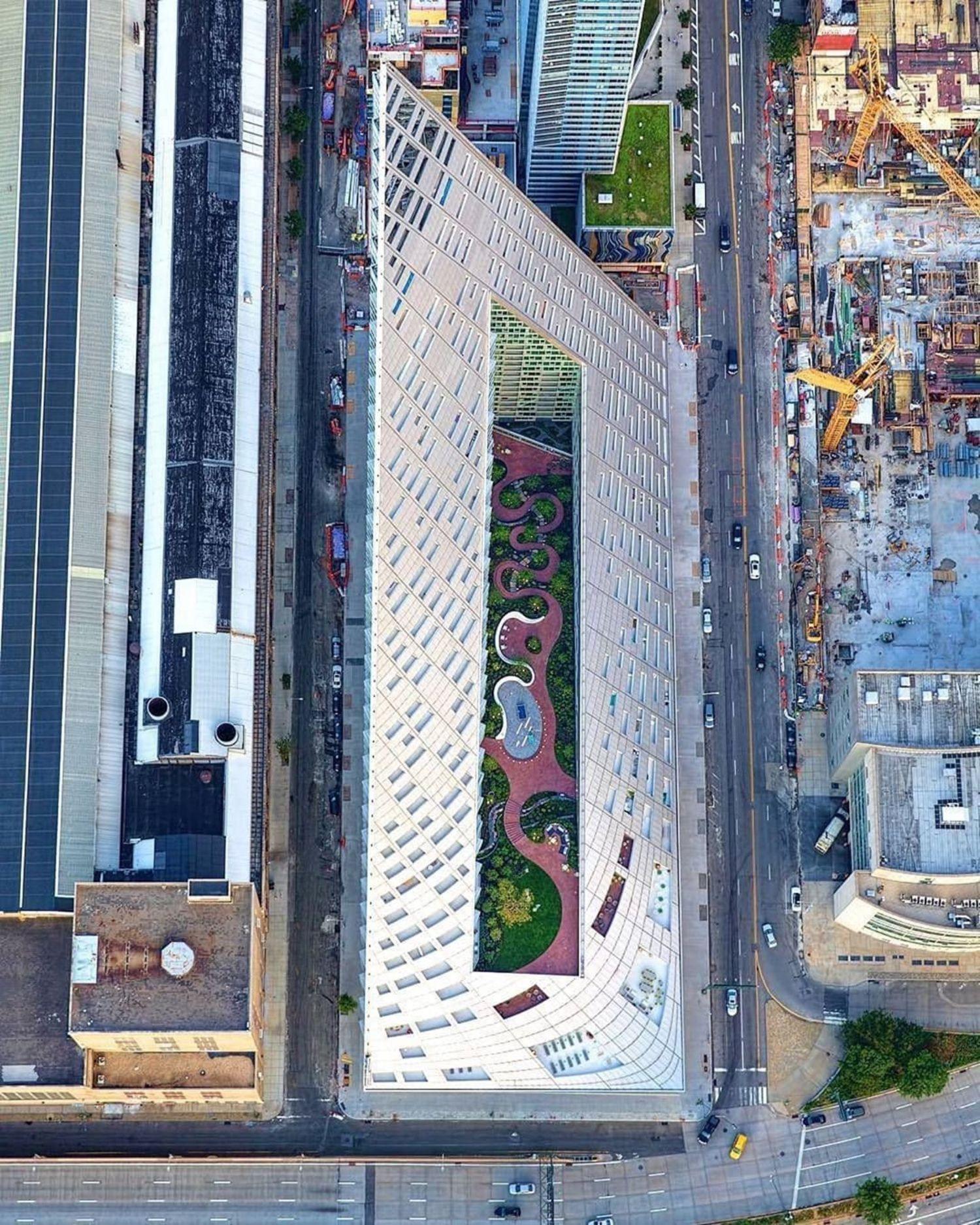 VIA 57, Manhattan. Photo via @mattpugs #viewingnyc #nyc #newyork #newyorkcity  #via57west