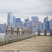 Lower Manhattan as seen from New Jersey