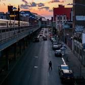 Atlantic Avenue at Nostrand Avenue in Brooklyn