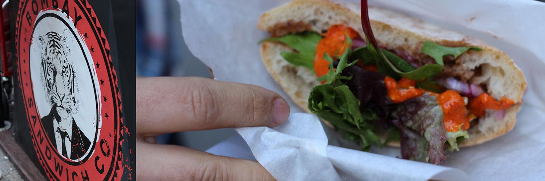 Bombay Sandwich Company — Chana Masala Sandwich