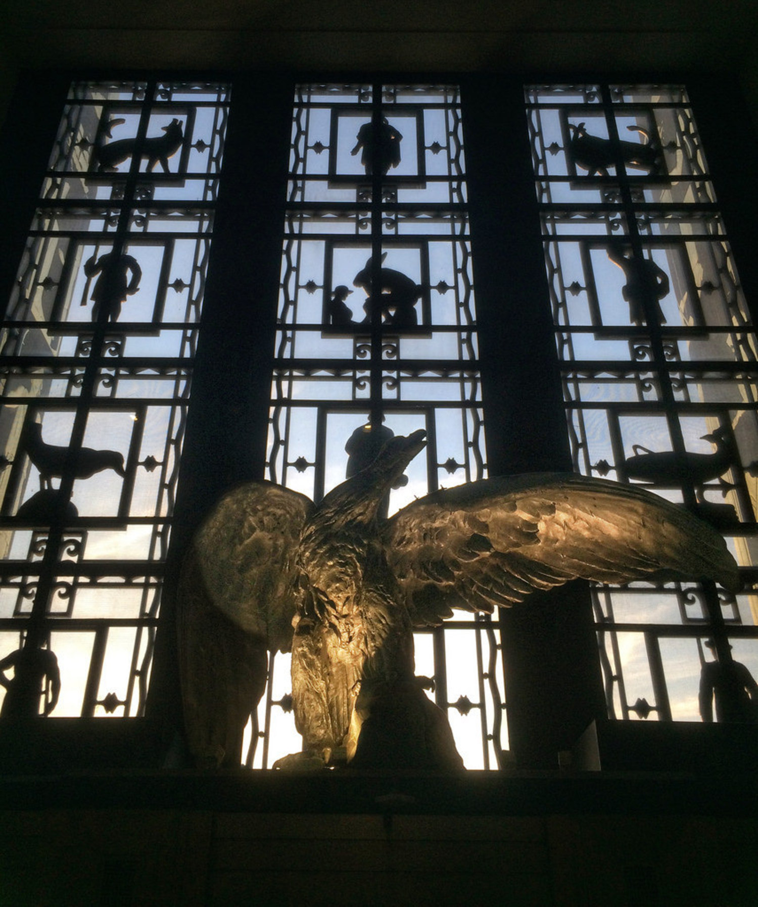 The Brooklyn Eagle At Brooklyn Public Library's Central Library in Grand Army Plaza