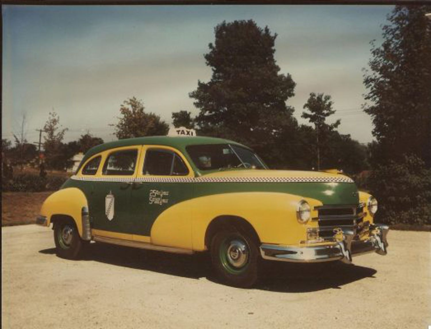 1950s Checker cabs: Roomy and handsome