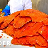 Behind The Scenes At NYC's Favorite Smoked Fish Factory | Legendary Eats