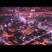 New York City | Manhattan Night before 9/11 | twin towers by night