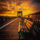 Brooklyn Bridge before sunrise. Photo via @212sid #viewingnyc #nyc #newyork #newyorkcity #brooklynbridge #sunrise