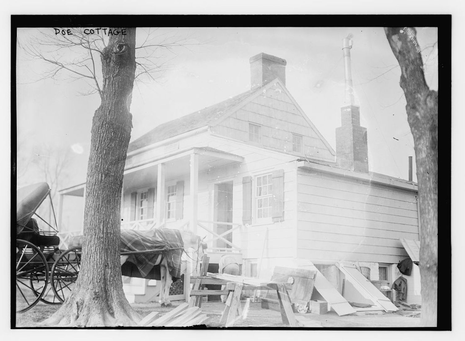 """Poe Cottage  (LOC) 