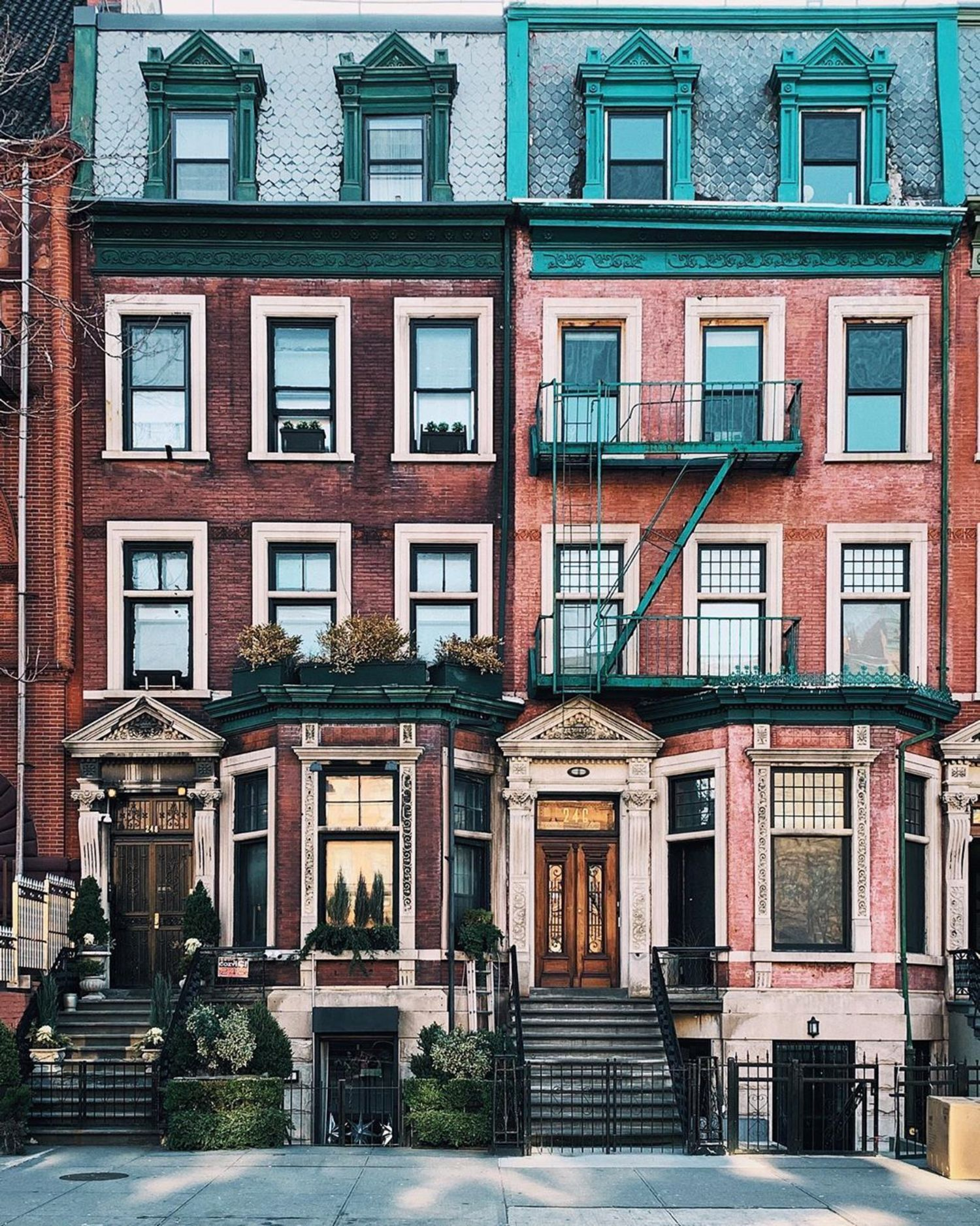 Harlem Townhouses, Manhattan