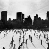 Central Park Ice Skating Rink, Nov 28th 1977