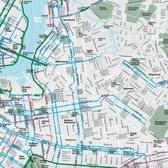 2016 New York City Bike Map