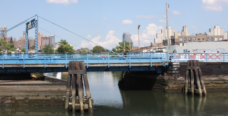 Bridge over the Gowanus Canal