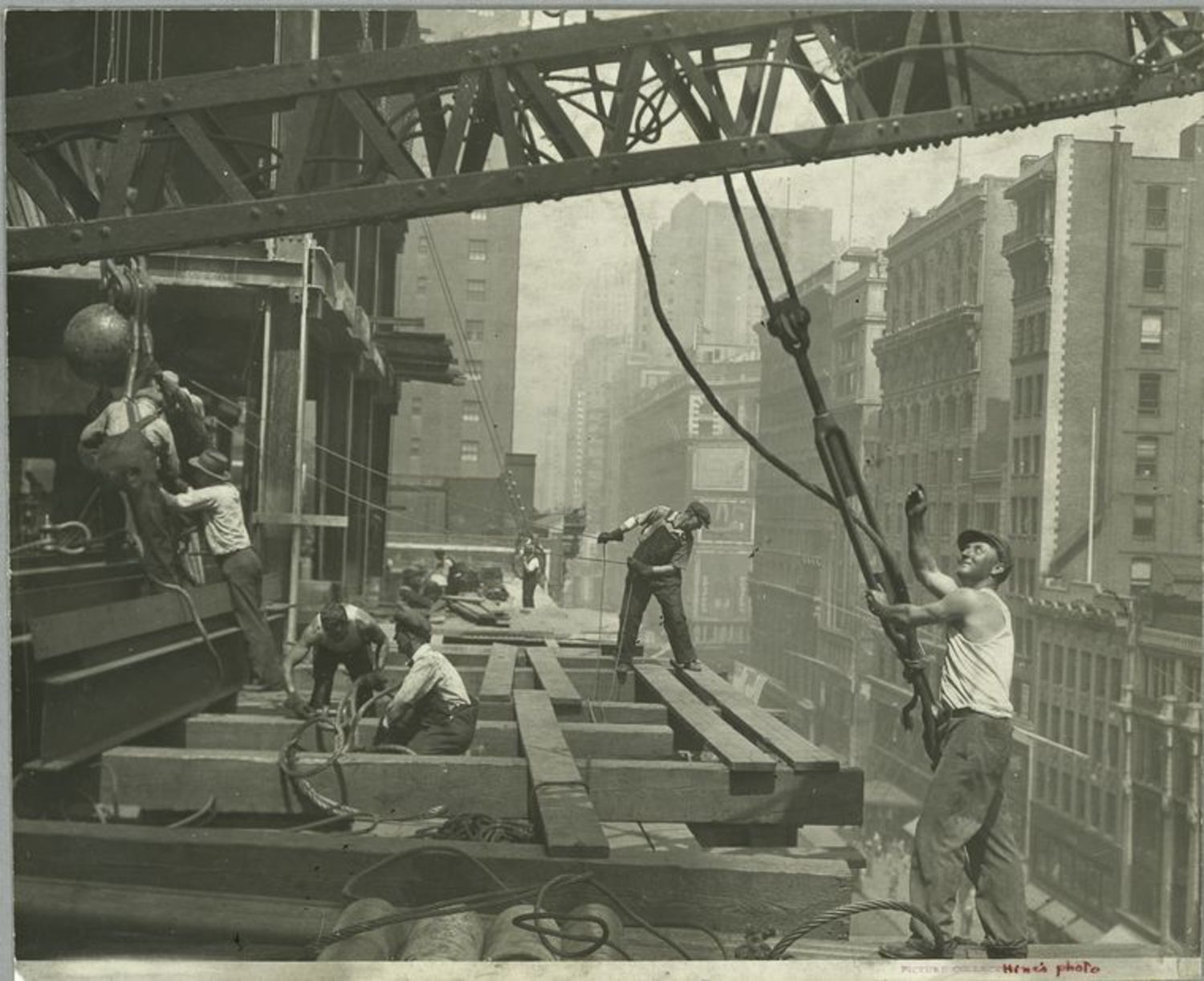 Vintage Health and Safety - Building Empire State Building | Vintage Health and Safety Photos - Empire State Building