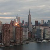 Aerial Views of Manhattan From East River
