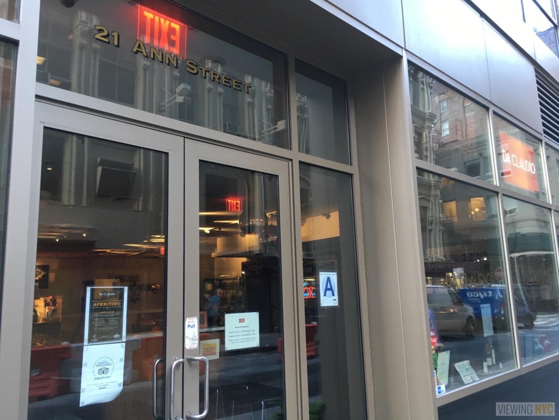 Exterior | Da Claudio, 21 Ann St, New York, NY 10038