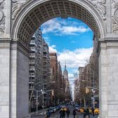 Washington Arch, New York, New York. Photo via @newyorkcitykopp #viewingnyc #newyorkcity #newyork #nyc #washingtonpark