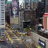 NYC Lockdown 4K Drone