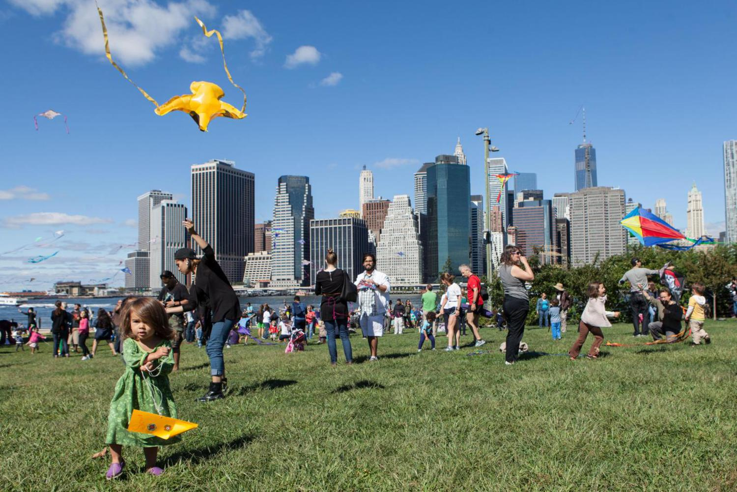 NYC Kite Festival at Brooklyn Bridge Park, Saturday September 10th, 2106