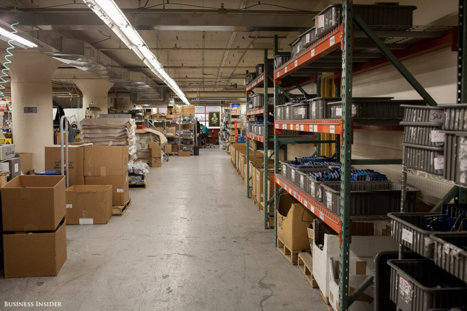 One of the first businesses we visited was Altronix, a company that manufactures electronics for schools, hospitals, and transportation hubs. The company started in a 12,000-square-foot space. It is now in a 125,000-square-foot space and employs 300 people.