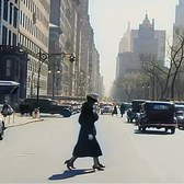 A Day in New York 1930's in color [60fps, Remastered] w/added sound