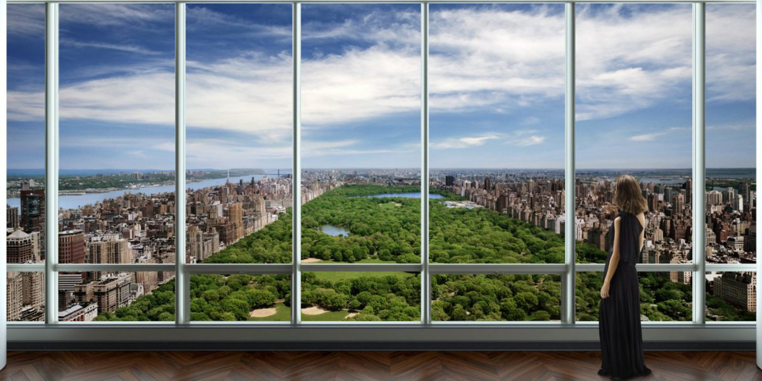 And perhaps most impressive is the view of Central Park — waking up to this everyday is worth $100 million.
