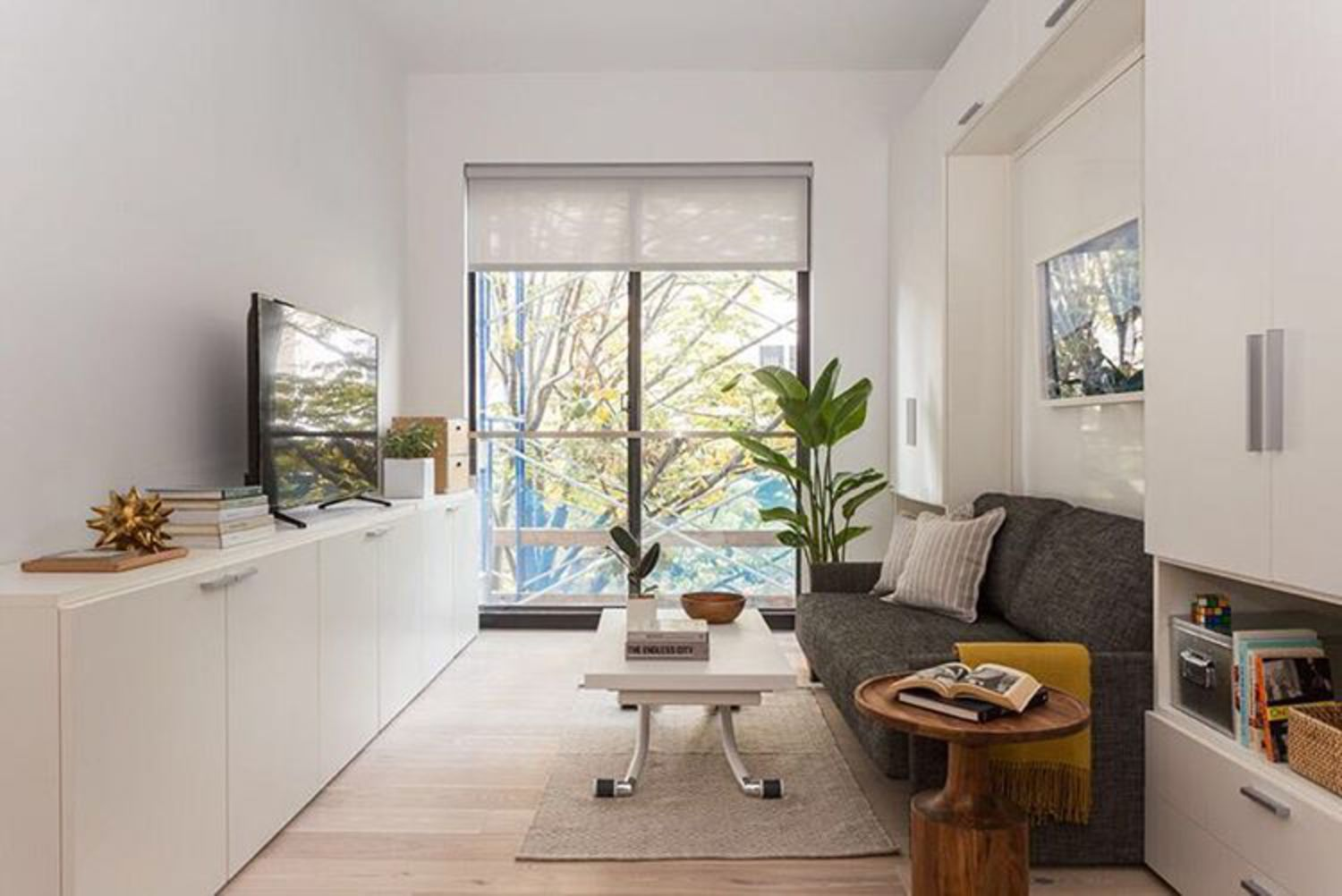 #microapartmentmonday in our Carmel Place apartments in Kips Bay. Tag us in your own #microapartment to get featured!  #ollieliving #sunincluded #carmelplace #newyork