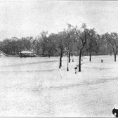 59th Street, Fifth Avenue & Central Park On a Snowy Day – 1903