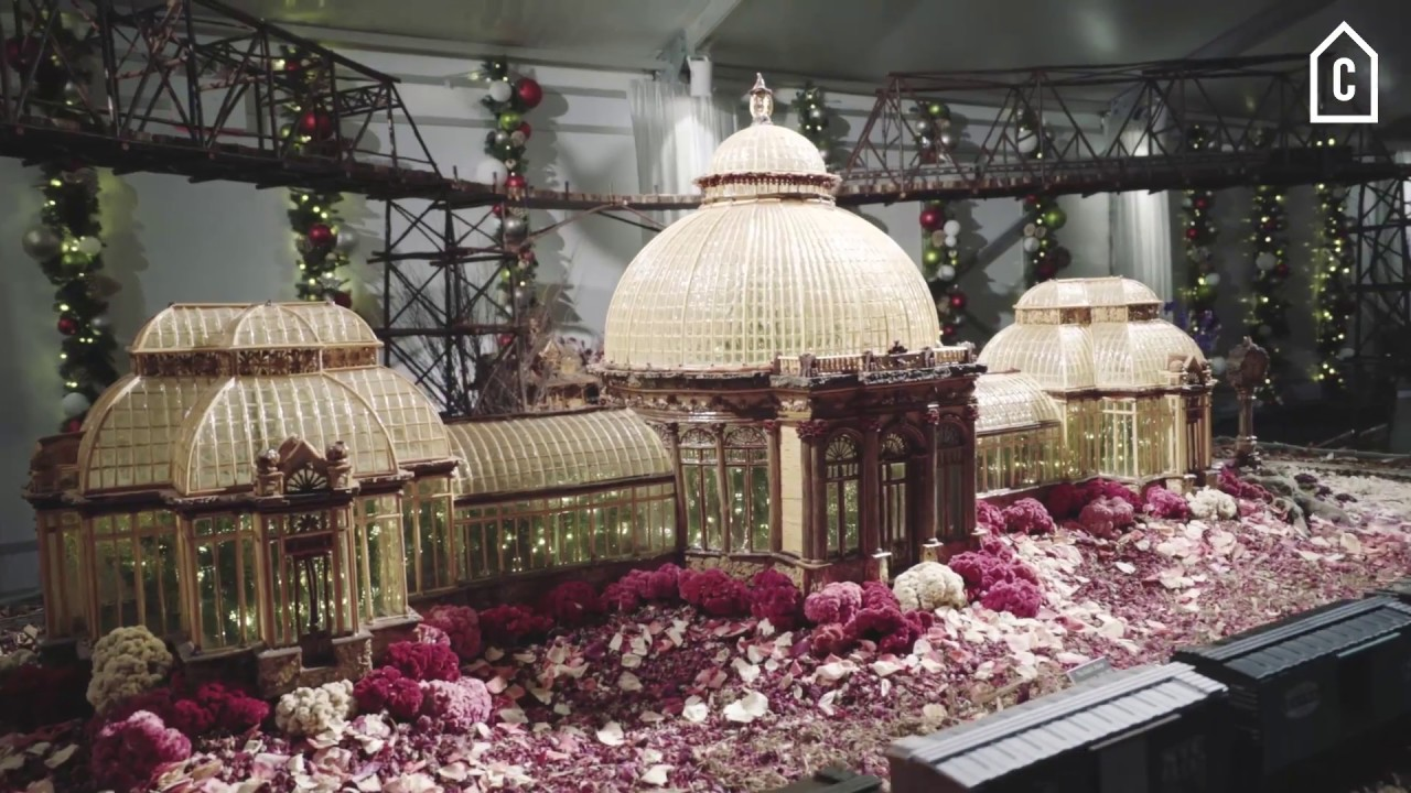 Peek Inside New York Botanical Garden 39 S 2016 Holiday Train Show Viewing Nyc