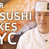 How Sushi Chef Masashi Ito Makes LA Sushi Work In NYC