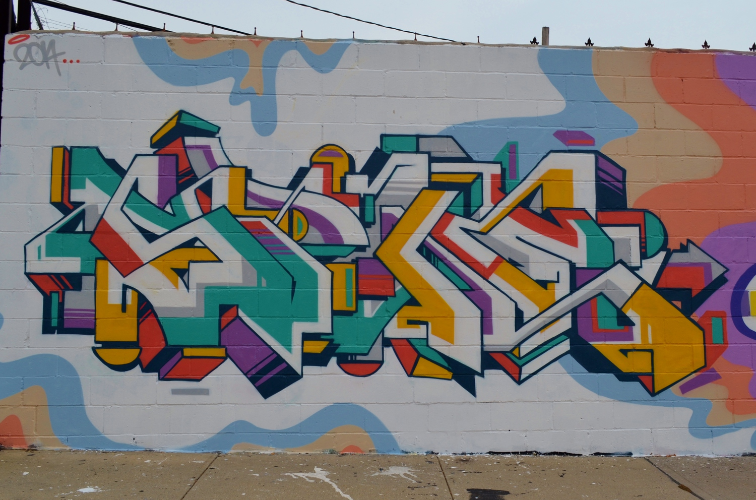 Welling Court: Gregg Lamarche, 9.21.14 | A visit to the Welling Court Mural Project in Queens on 9.21.14. With 5 Pointz gone, Welling Court has become the new graffiti center in the borough. I'll try to include the individual artists, great talent/ work from everyone.