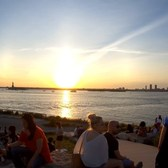 ⁴ᴷ Ferry Ride and Walking Tour of Governors Island, Manhattan, NYC with a gorgeous sunset