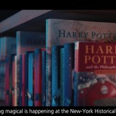 """Harry Potter: A History of Magic"" exhibition trailer"