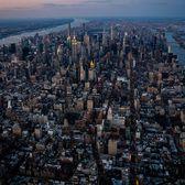 Sunset over Midtown Manhattan