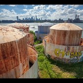 Take a tour of the future home of THE TANKS at Bushwick Inlet Park