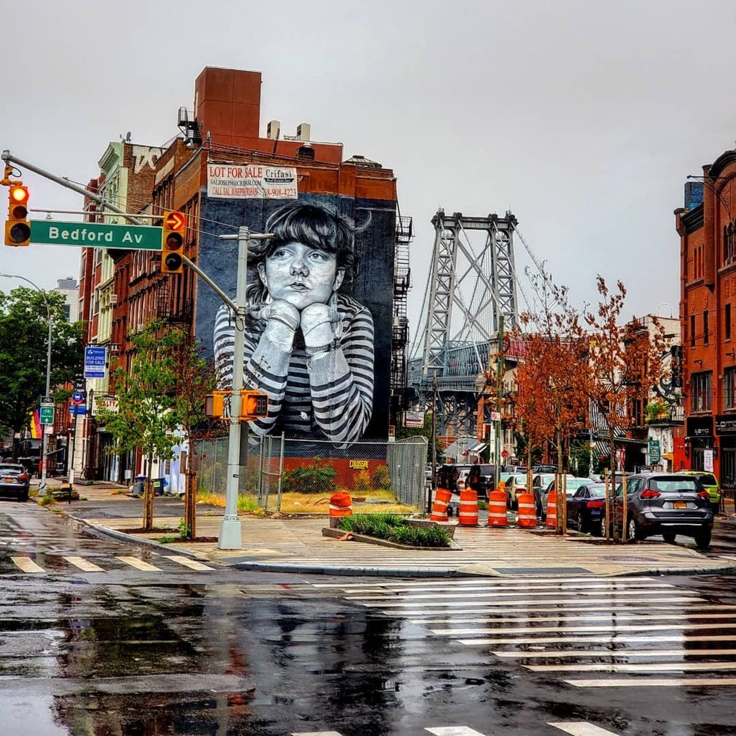 Bedford Avenue & Broadway, Williamsburg, Brooklyn