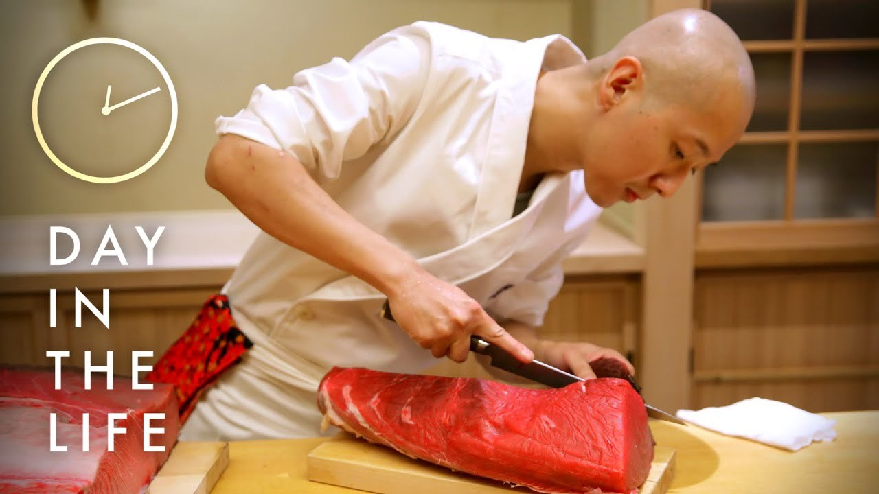 Watch A Day In The Life Of A Master Sushi Chef In New -6173