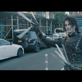 Edward Scissorhands moves to Brooklyn