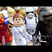LEGO STAR WARS FLASH MOB IN NYC! (Epic!)